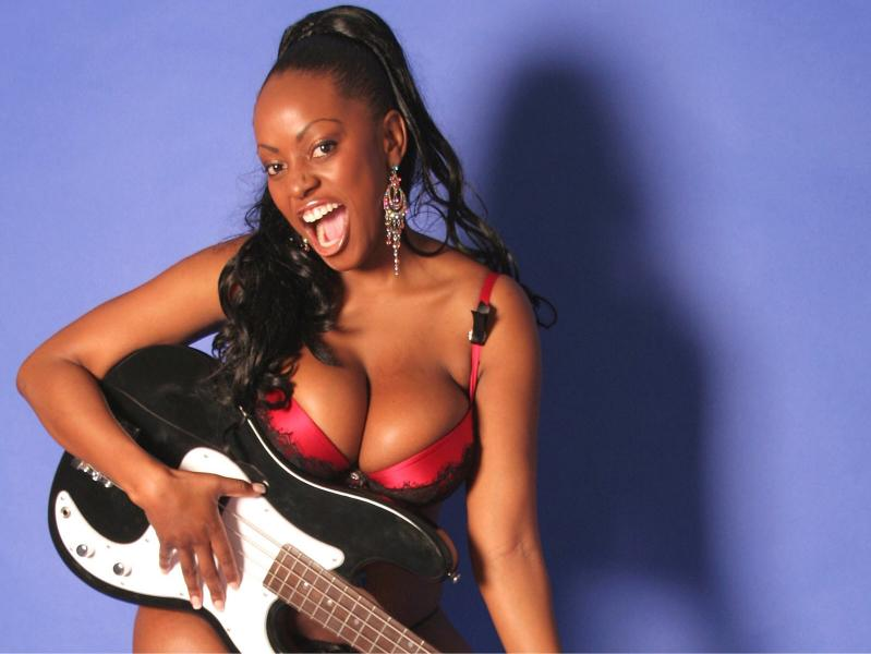 My boobs nearly killed me: Big Brother star Makosi