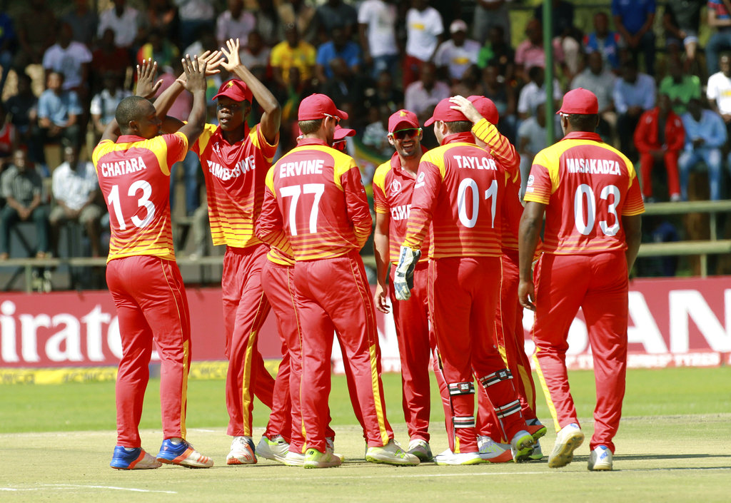 Zimbabwe cricket official charged in graft probe