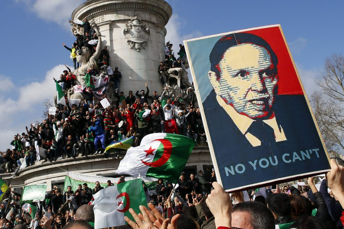 Bouteflika returns to Algeria as ruling elite turn on leader