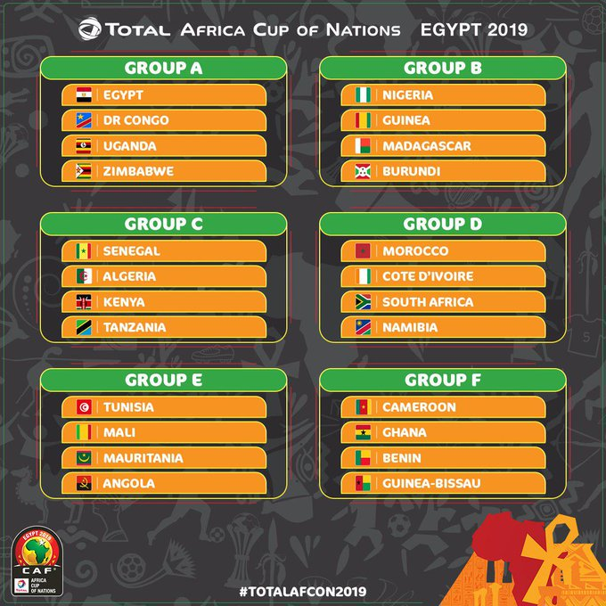 zimbabwe draw hosts egypt in africa cup of nations finals
