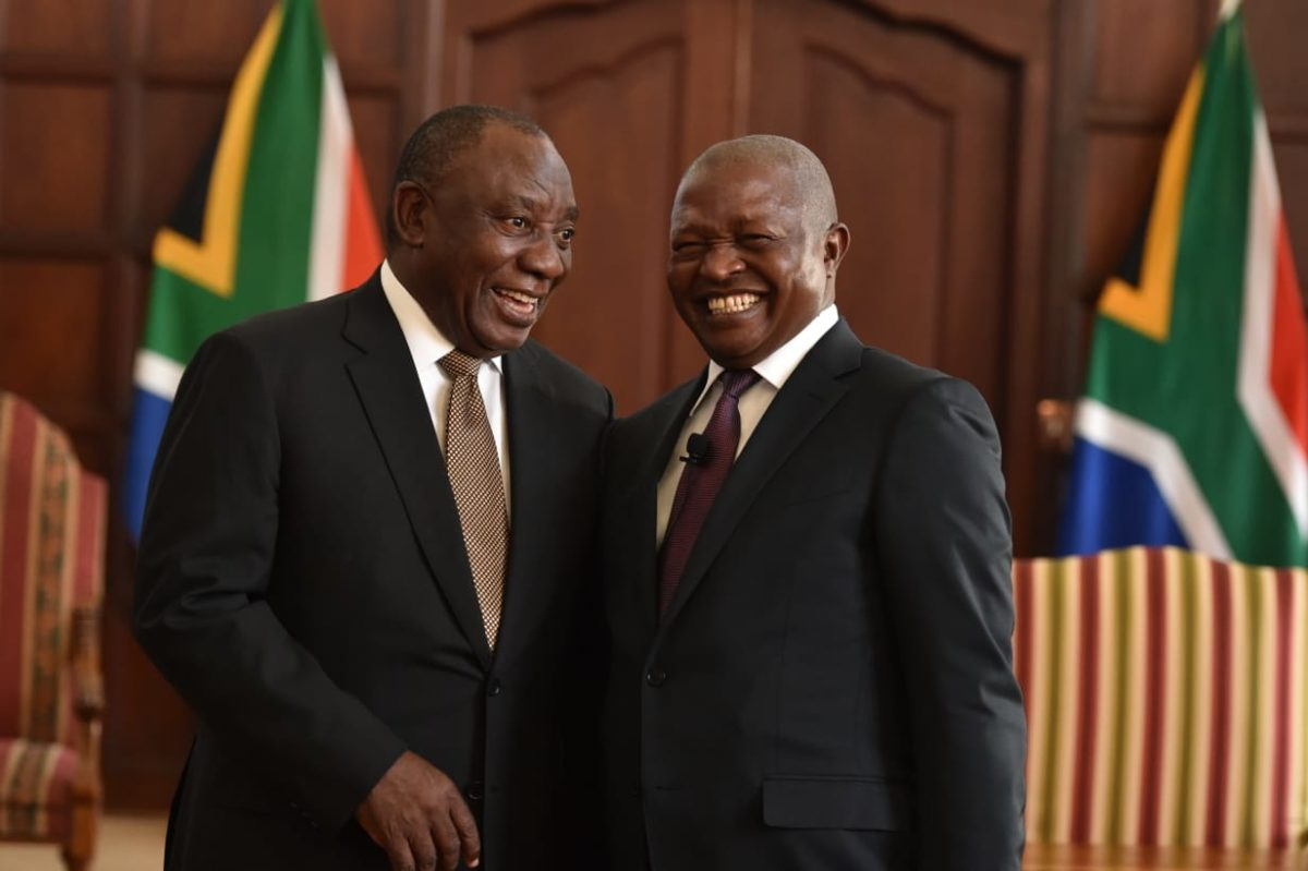 Ramaphosa consolidates economic cluster as part of streamlined Cabinet