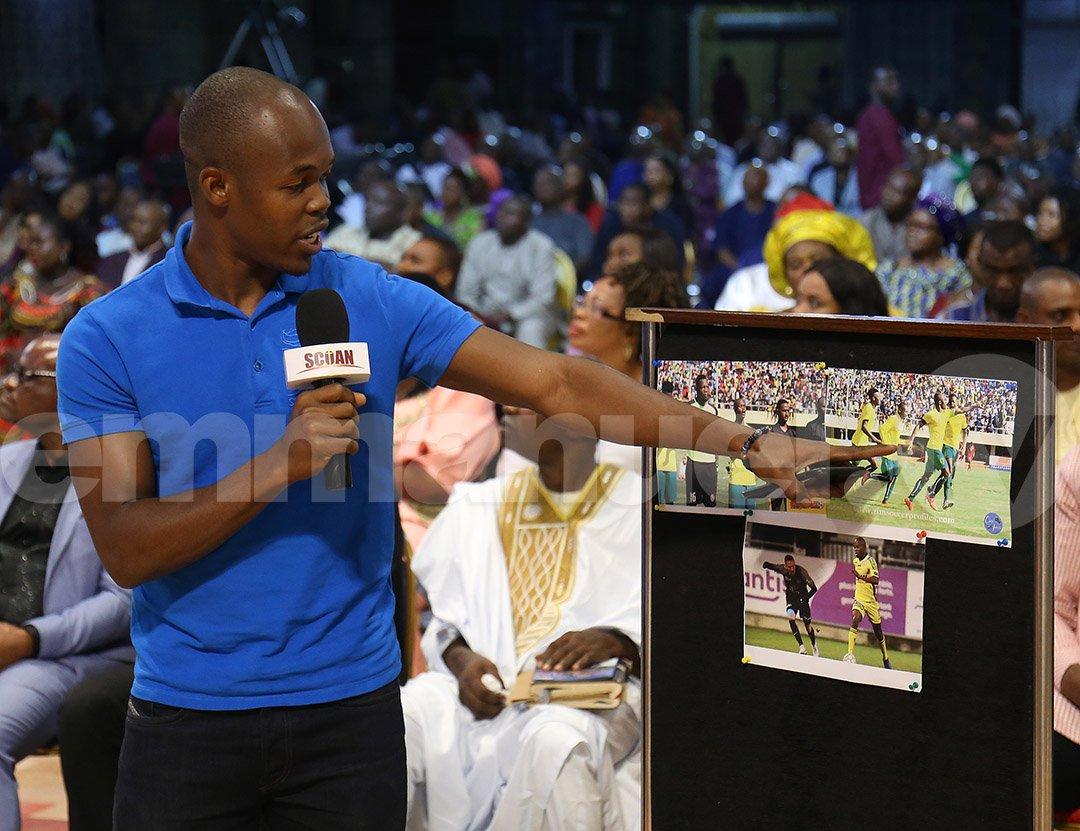 TB Joshua claims Knowledge Musona 'healed instantly' of ankle injury