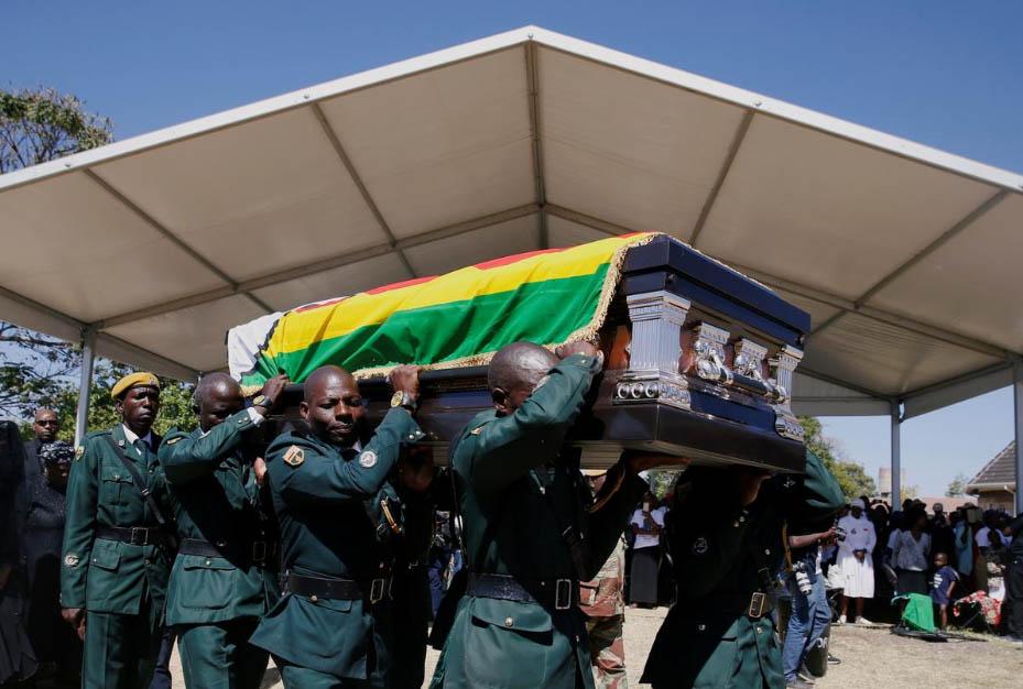 Robert Mugabe's burial in Zvimba