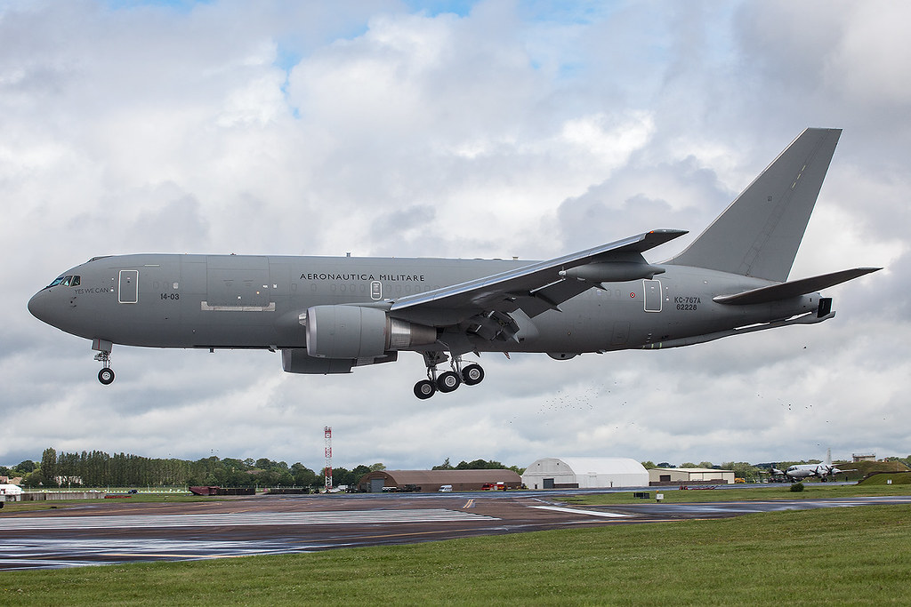 Why were military planes from Italy and the United States in Harare?